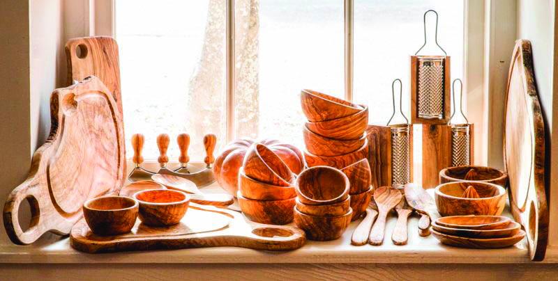 Artisanat bois d'olivier