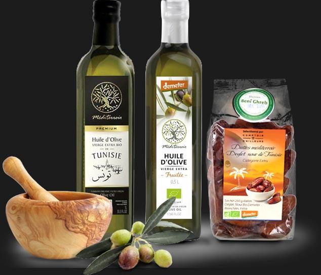 Boutique en ligne de vente d'huile d'olive bio